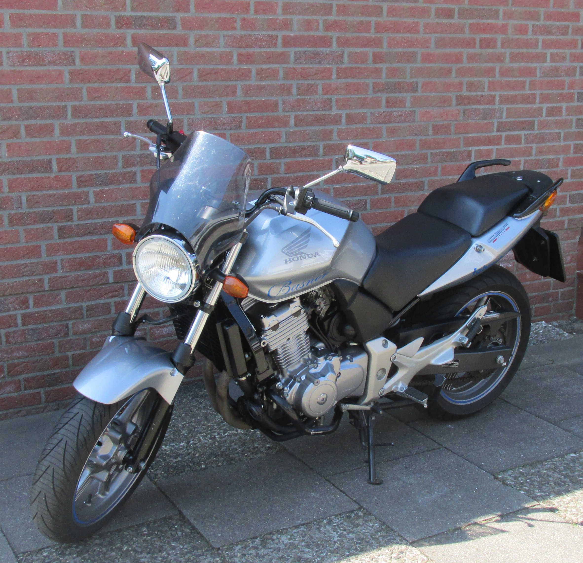 Bild vom Motorrad